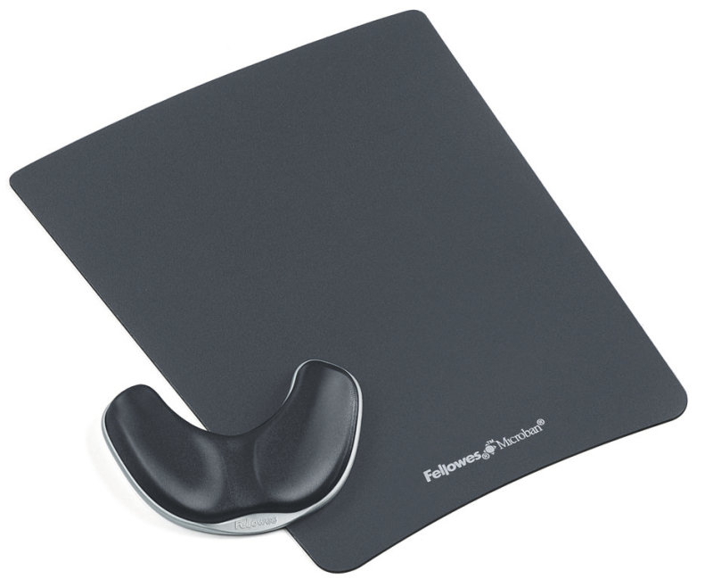 Fellowes Fabrik Palm Support Graphite