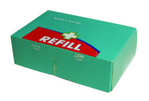 WALLACE MED FIRST AID KIT REFILL BLUE