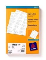 AVERY COPIER LBL 105X71 WHT PK100 DPS08