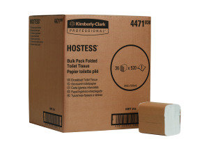 HOSTESS BULK TOILET TISSUE WHT 4471 PK36