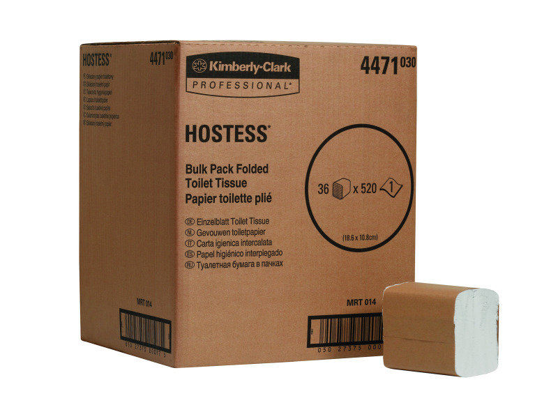 Image of HOSTESS BULK TOILET TISSUE WHT 4471 PK36