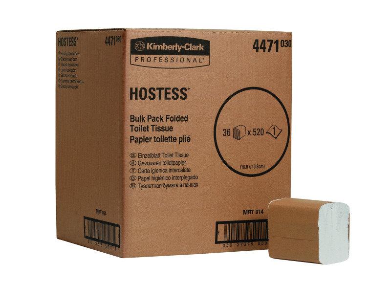 HOSTESS BULK TOILET TISSUE WHT 4471 PK36