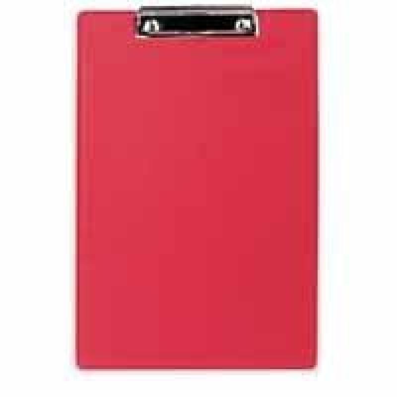 Rapesco Standard Clipboard, A4/Foolscap (red)