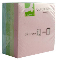 Q CONNECT QUICK NOTE CUBE 75X75MM PAS