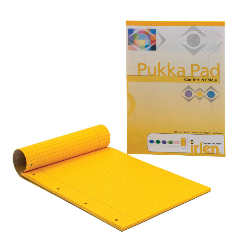 Pukka A4 Refill Pad Paper Gold - 6 Pack