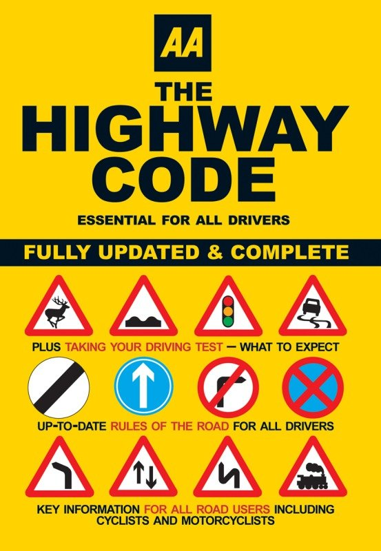 Image of AA HIGHWAY CODE 9780749552572