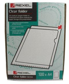 COPYKING FOLDER CLEAR CKF/A4 PK100