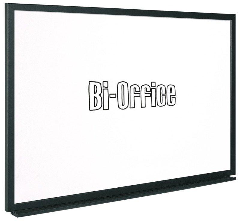 BI-SILQUE WHITEBOARD 600X450 BLACK FRAME