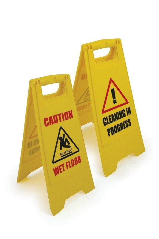 Dual-Sided Floor Sign (Pack of 1)