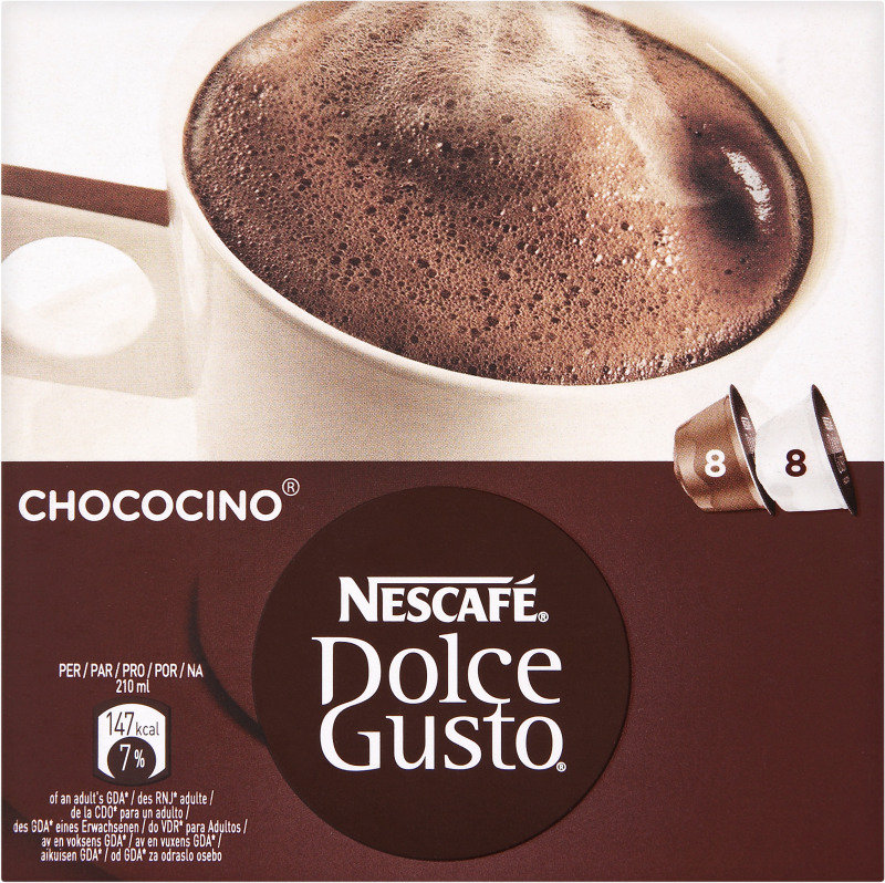 Nescafe Dolce Gusto Chococino Hot Chocolate - 3x8 Caps