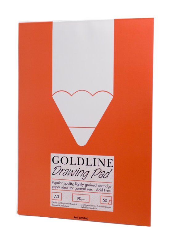 GOLDLINE A3 POPULAR DRAWING PAD GPS2A3Z