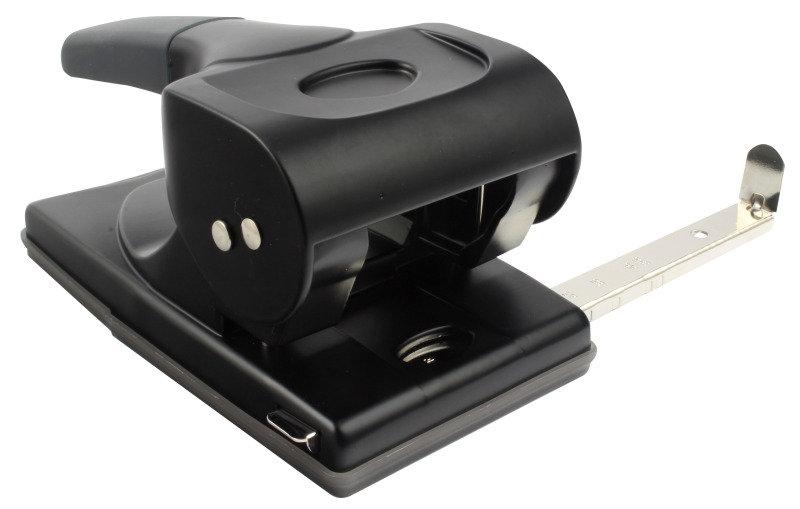 Rapesco 865-P Heavy Duty 2-Hole Perforator Black