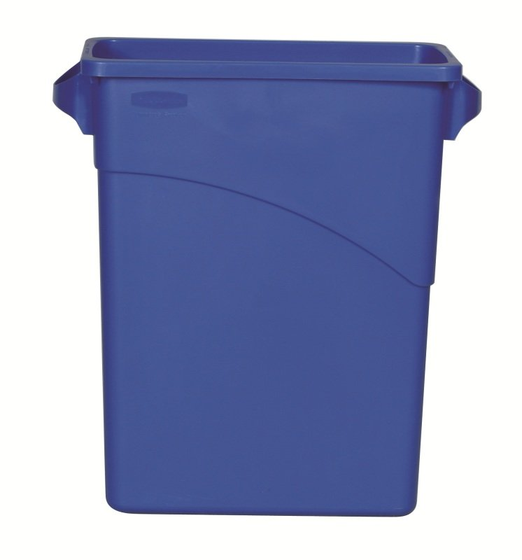 NEWELL SLIM JIM 60L RECYCLING LOGO BLU