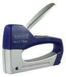 Rapesco Mini Z T-Duo Staple Tacker (ABS/Metal) (blue / silver)