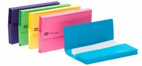 Europa Pocket Wallet Foolscap Assorted 25 Pack