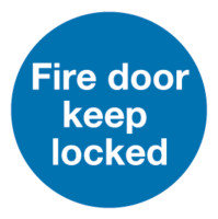 Fire Door K/locked 100x100mm S/a Km72a/s - 5 Pack