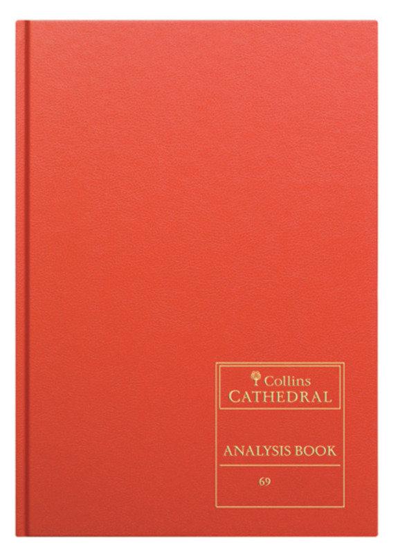CATHEDRAL ANALYSIS BK 96P RED 69/4.1