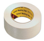 Scotch 50mm X 50M Masking Tape - 6 Pack