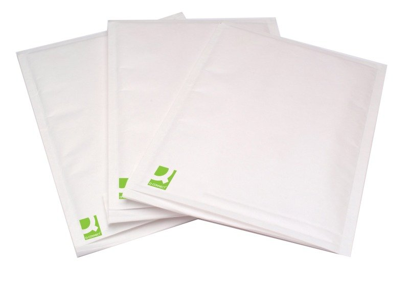 Q-Connect White Size 3 Bubble Envelopes KF71448 Pack of 100