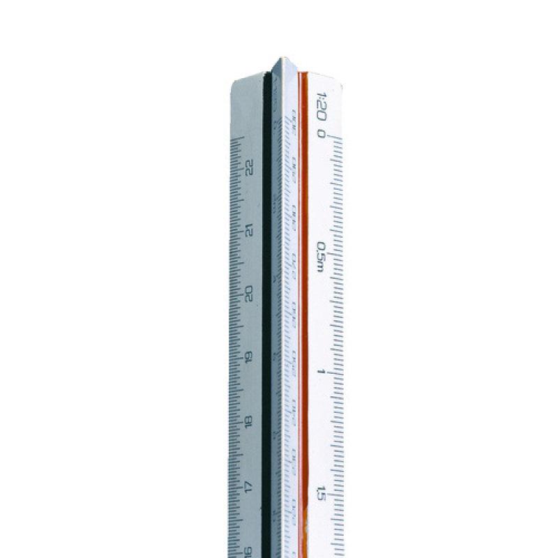 Image of SCALERULE TRIANGULAR 1 20-125 30CM 311
