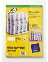 AVERY LASER LABEL H/DUTY 48/SHT 20/PK WH