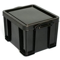 REALLY USEFUL 35 LITRE RECYCLED BOX BLK