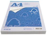 Silvine A4 Rfl Pad 80 Shts Fmsrp80 Fms - 5 Pack