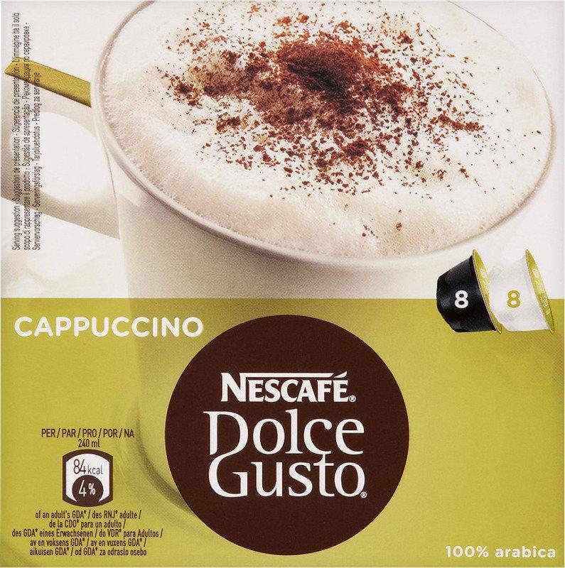 Nescafe Dolce Gusto Cappuccino Coffee  3x8 Caps