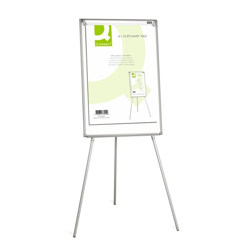 Q-Connect Flipchart Pad A1 Plain 40 Sheets (Pack of 5)