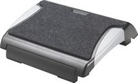 QCONNECT FOOTREST WITH CARPET BLK/SILV