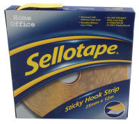 SELLOTAPE STICKY HOOK 25MMX12M 2264