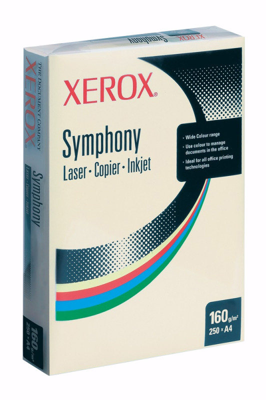 XEROX SYMPHONY A4 160GSM PSTL BLUE 250PK