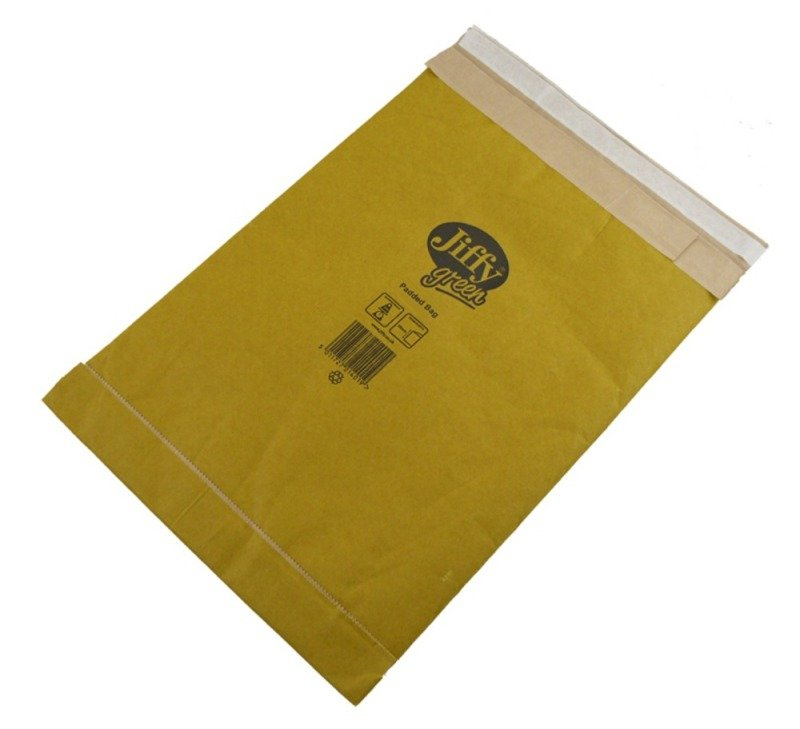 JIFFY PADDED BAG 195X343MM PK10 MP-3-10