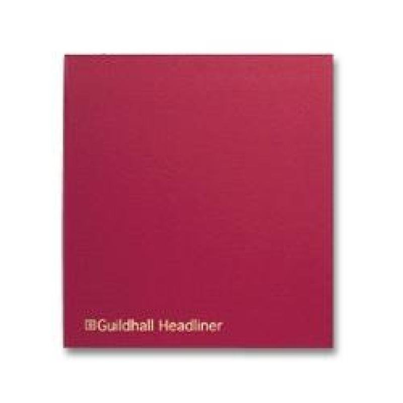 Guildhall Headliner Book 58 Series 27 Columns 80 Pages