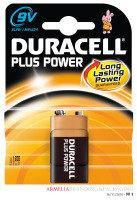 Duracell Plus 9V Battery - 1 Pack