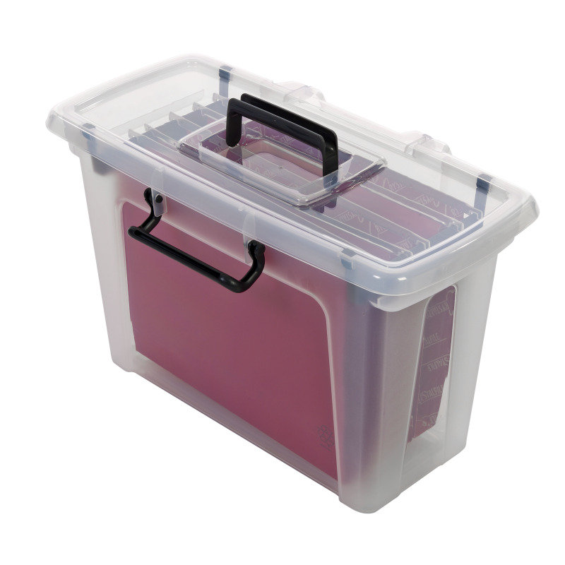 STRATA SMART FILE BOX WITH 5FILES HW697