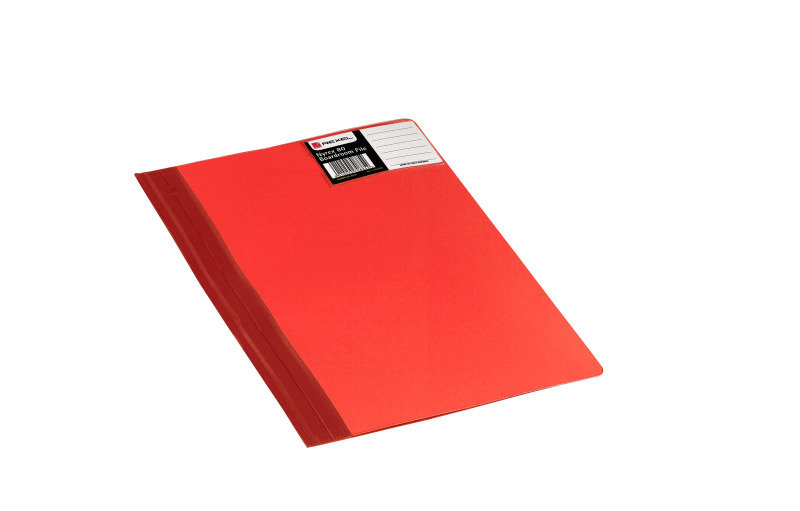 NYREX80 BOARDROOM FILE A4 RED PK5 BRFA4