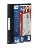 BANTEX VISION 2-RING BINDER A4 25MM BLK