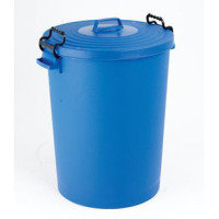 FD DUSTBIN 110L WITH LID BLUE 382066