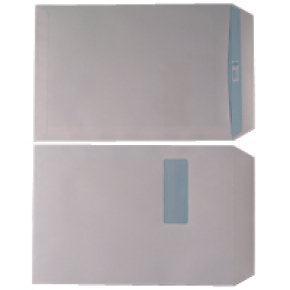 Extra Value 90g C4 Self Seal White Envelope with Window - 250 Pack