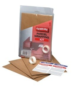 FLEXOCARE PARCEL WRAPPING KIT BROWN PK24