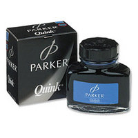 Parker Quink Ink 2oz Bottle Blue