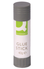 Q Connect Glue Sticks 40g - 10 Pack