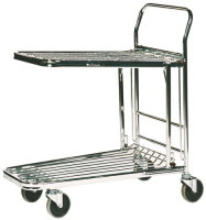 Fd Metallic Grey Stock Trolley 373227