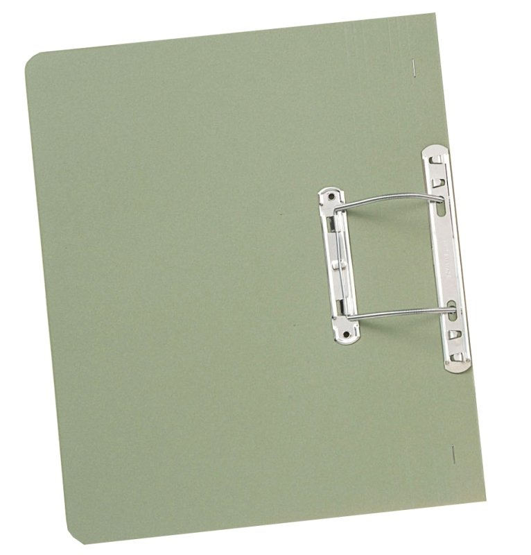 Guildhall Transfer Spring File Green - 50 Pack