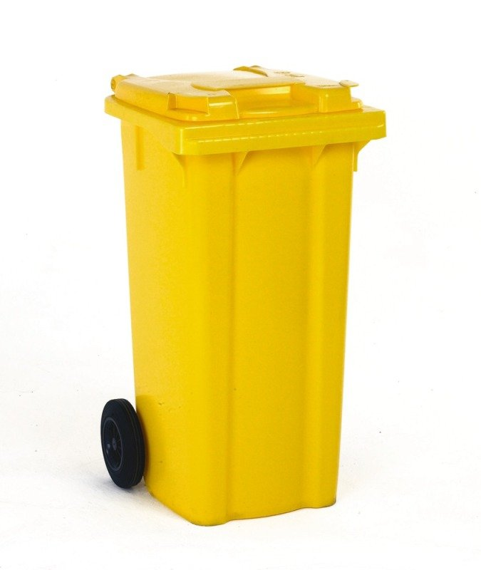 FD REFUSE CONTAINER 240L 2 WHLD YLW 33