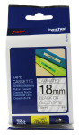 Brother Laminated Tape 18MM - (For PTS Black on Clear)