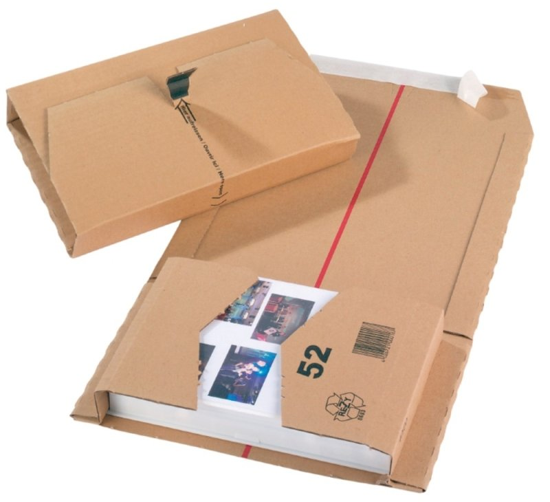 MAILING BOX 270X192X80MM PK25 57FP03