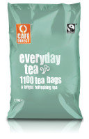 Cafe Direct Polybags 2g Teabags - 1100 Pack
