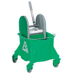 CONTICO MOBILE MOP BUCKET 15LT GREEN